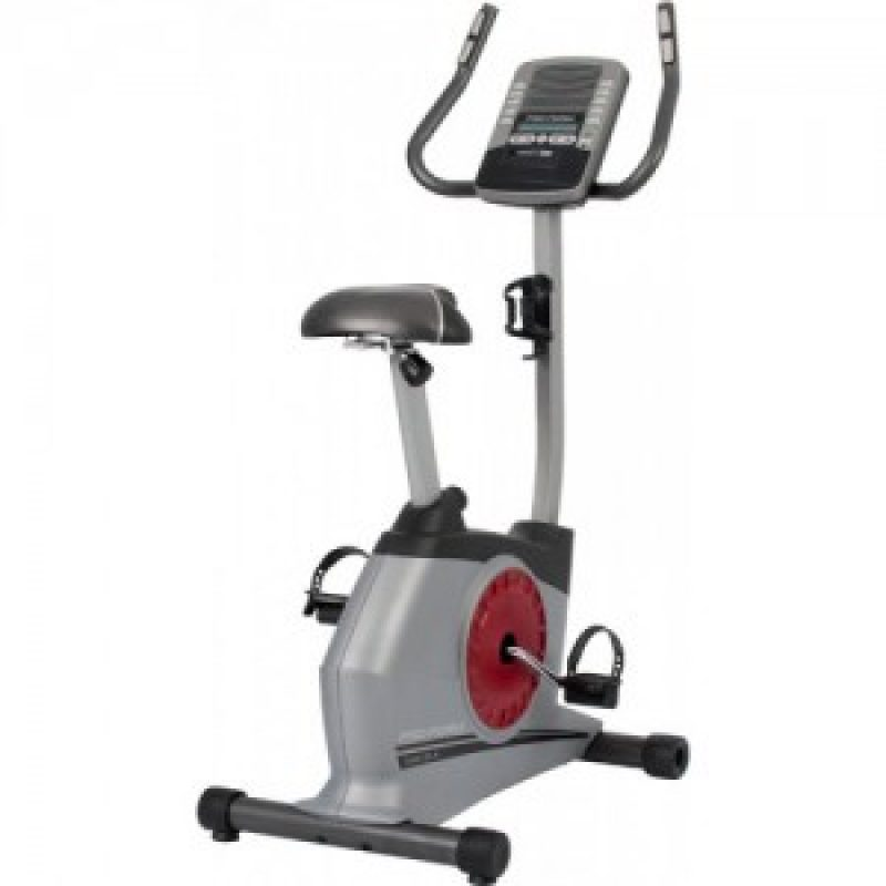 Silver Exercise Bike